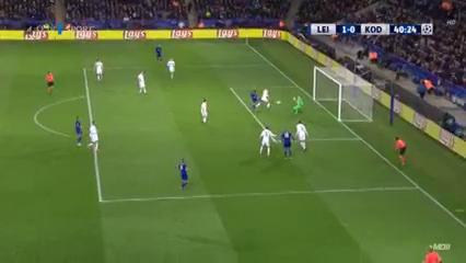 Leicester City 1-0 København - Golo de R. Mahrez (40min)