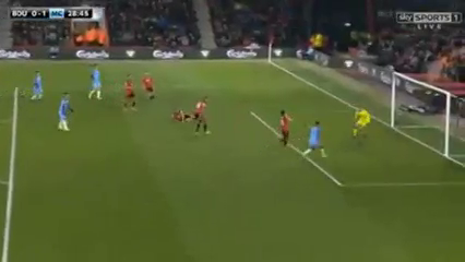 AFC Bournemouth 0-2 Manchester City - Golo de R. Sterling (29min)