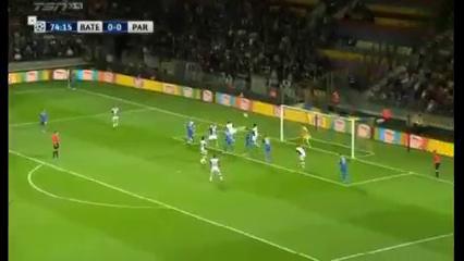 BATE 1-0 Partizan - Golo de M. Gordeychuk (75min)
