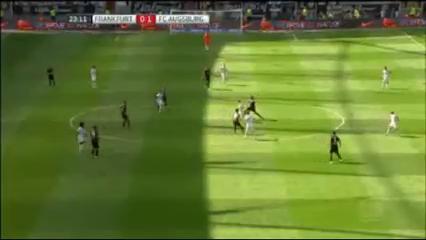 Summary: Frankfurt 1-1 Augsburg (22 August 2015)