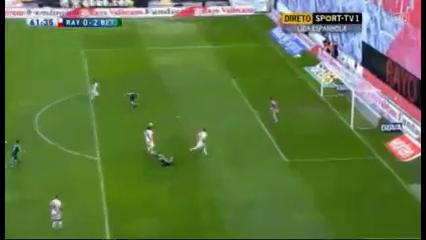 Rayo Vallecano 0-2 Real Betis - Golo de H. Westermann (20min)