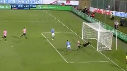 Palermo 0-3 Napoli - Golo de José Callejón (51min)