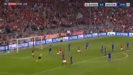 Bayern München 5-0 Rostov - Golo de R. Lewandowski (28min)