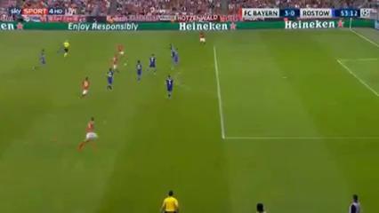 Bayern München 5-0 Rostov - Golo de J. Kimmich (53min)
