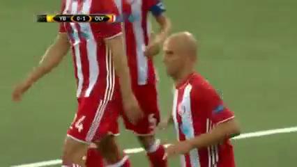 Young Boys 0-1 Olympiakos Piraeus - Golo de E. Cambiasso (42min)