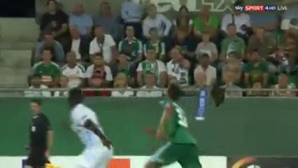 Rapid Wien 3-2 Genk - Golo de Joelinton (59min)