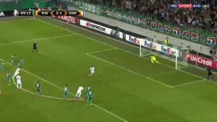Rapid Wien 3-2 Genk - Golo de L. Bailey (90min)