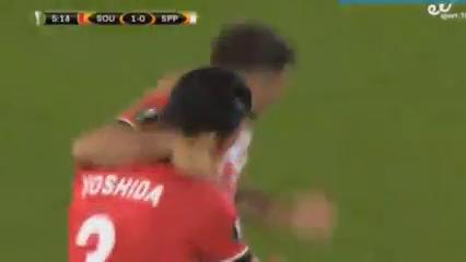 Southampton 3-0 Sparta Praha - Golo de C. Austin (5min)