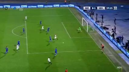 Dinamo Zagreb 0-1 Sevilla - Golo de S. Nasri (37min)