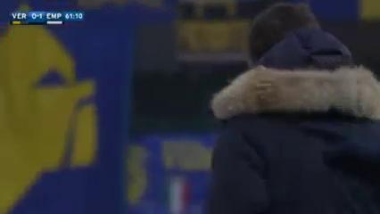 Hellas Verona 0-1 Empoli - Golo de A. Costa (61min)