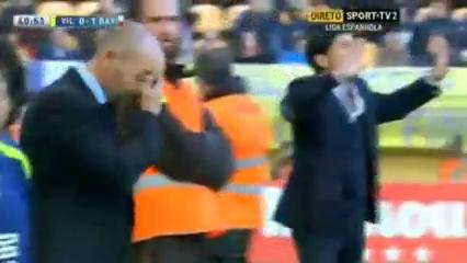 Villarreal 2-1 Rayo Vallecano - Golo de Jozabed  (41min)