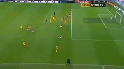 Sporting Braga 2-2 Sion - Golo de T. Gekas (29min)