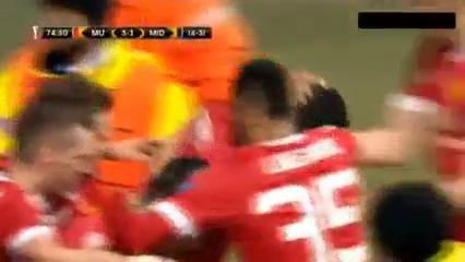 Manchester United 5-1 Midtjylland - Golo de M. Rashford (75min)
