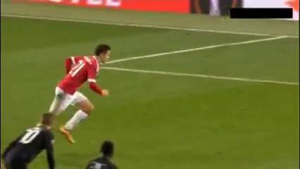 Manchester United 5-1 Midtjylland - Golo de Ander Herrera (87min)