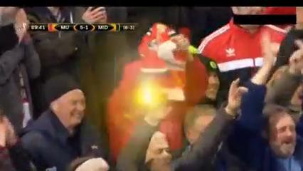 Manchester United 5-1 Midtjylland - Golo de M. Depay (90min)