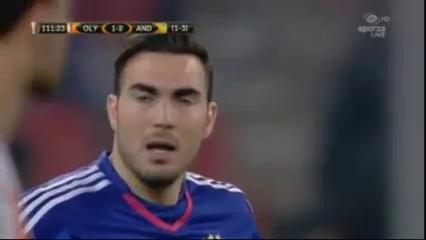 Olympiakos Piraeus 1-0 Anderlecht - Golo de F. Acheampong (111min)