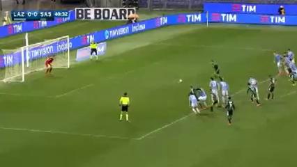 Lazio 0-2 Sassuolo - Goal by D. Berardi (41')