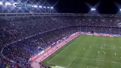 Atlético Madrid 3-0 Real Sociedad - Golo de Saúl (46min)