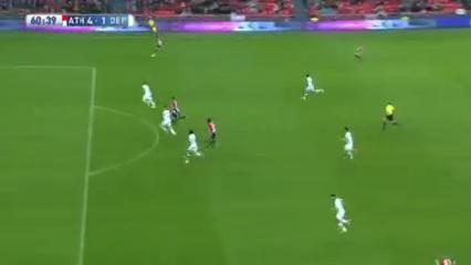 Athletic Club 4-1 Deportivo La Coruña - Golo de Oriol Riera (51min)