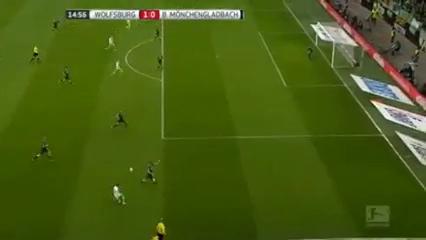 Wolfsburg 2-1 Borussia M'gladbach - Golo de J. Draxler (15min)