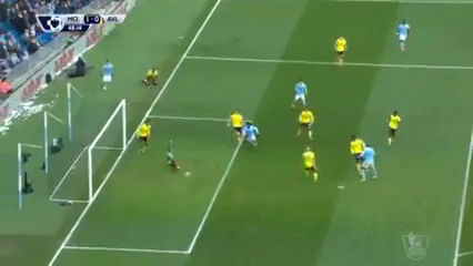 Manchester City 4-0 Aston Villa - Golo de Y. Touré (48min)