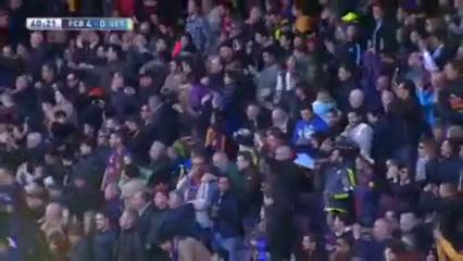 Barcelona 6-0 Getafe - Golo de L. Messi (40min)