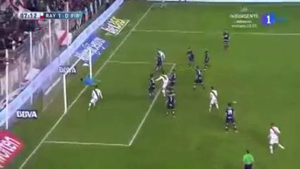Rayo Vallecano 1-1 Eibar - Golo de Zé Castro (7min)