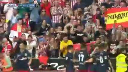 Sporting Gijón 2-1 Atlético Madrid - Golo de A. Griezmann (29min)