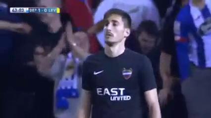 Deportivo La Coruña 2-1 Levante - Golo de Luis Alberto (43min)