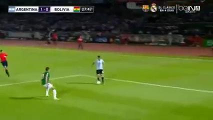 Argentina 2-0 Bolivia - Golo de L. Messi (30min)
