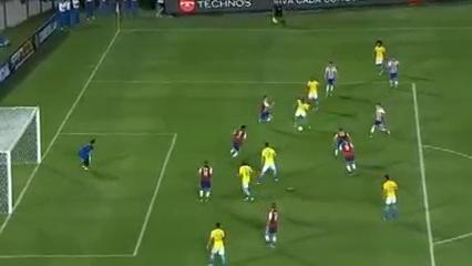 Paraguay 2-2 Brazil - Golo de Dani Alves (90+2min)