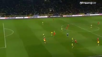 Borussia Dortmund 1-1 Liverpool - Golo de D. Origi (36min)