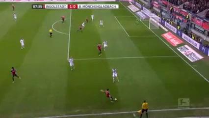 Ingolstadt 1-0 Borussia M'gladbach - Golo de M. Hartmann (88min)