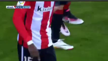 Athletic Club 1-0 Rayo Vallecano - Golo de Iñaki Williams (61min)