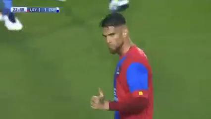 Levante 2-1 Espanyol - Golo de G. Rossi (23min)