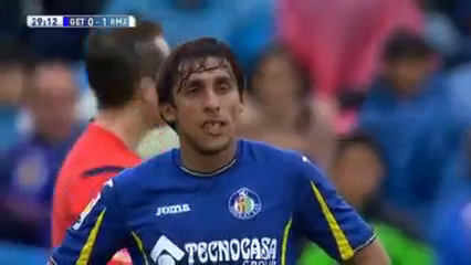 Getafe 1-5 Real Madrid - Golo de Isco (40min)