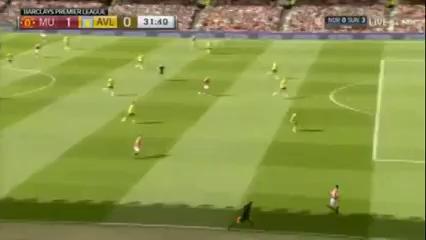 Man Utd vs Aston Villa - Gól de M. Rashford (32min)
