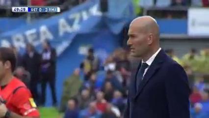 Getafe 1-5 Real Madrid - Golo de G. Bale (50min)