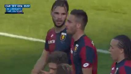 Carpi 4-1 Genoa - Golo de L. Pavoletti (34min)
