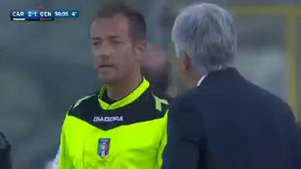 Carpi 4-1 Genoa - Golo de L. Lollo (45+5min)