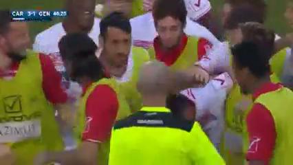 Carpi 4-1 Genoa - Golo de L. Pasciuti (49min)
