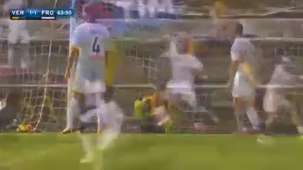 Hellas Verona 1-2 Frosinone - Golo de M. Bianchetti (64min)
