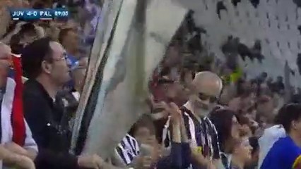 Juventus 4-0 Palermo - Gól de S. Padoin (89min)
