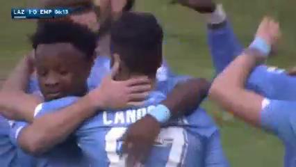 Lazio 2-0 Empoli - Golo de A. Candreva (6min)