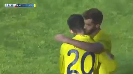 Rayo Vallecano 2-1 Villarreal - Golo de Adrián (20min)