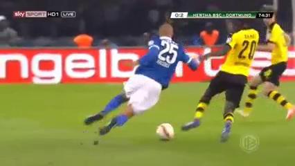 Hertha BSC 0-3 Borussia Dortmund - Golo de M. Reus (75min)