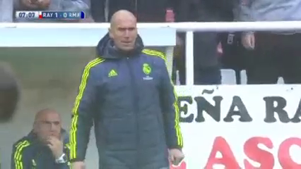 Rayo Vallecano 2-3 Real Madrid - Golo de Adri Embarba (7min)