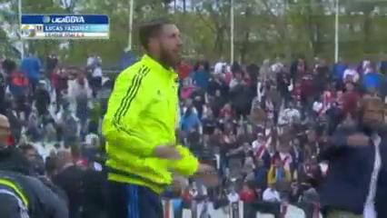 Rayo Vallecano 2-3 Real Madrid - Golo de Lucas Vázquez (52min)