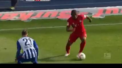 Hertha BSC 0-2 Bayern München - Golo de Douglas Costa (79min)