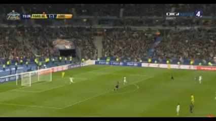 PSG 2-1 Lille - Golo de Á. di María (74min)
